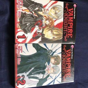 Vampire Knight Volume 1 & 2